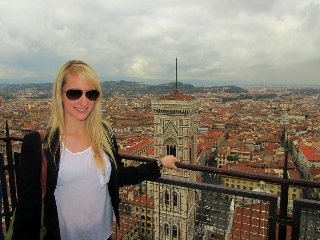 Olivia_in_Florence!