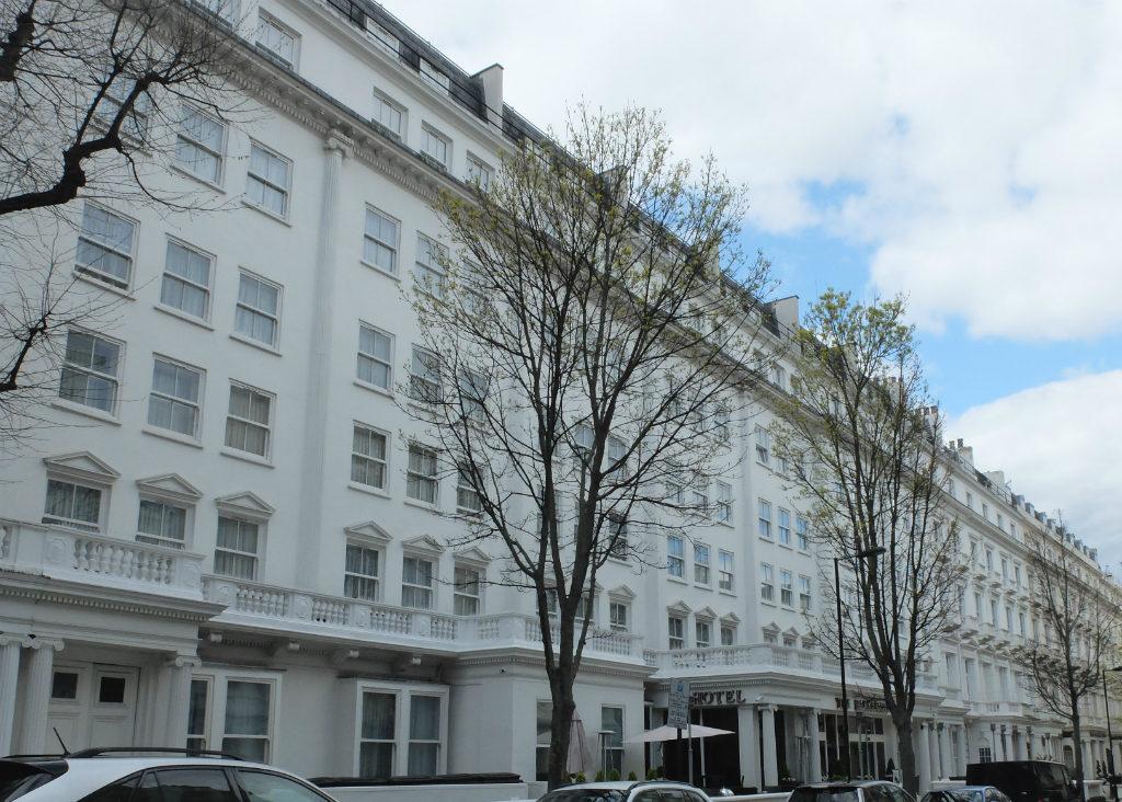 The Secret Of London S Leinster Gardens Olivia Leaves