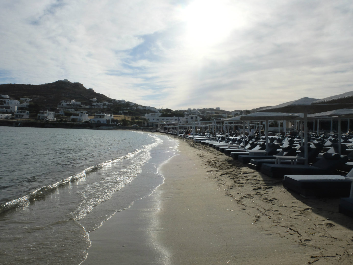 Olivia Leaves | Beaches of Mykonos | Ornos