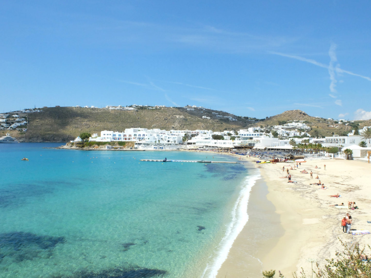 Olivia Leaves | Beaches of Mykonos | Platys Gialos