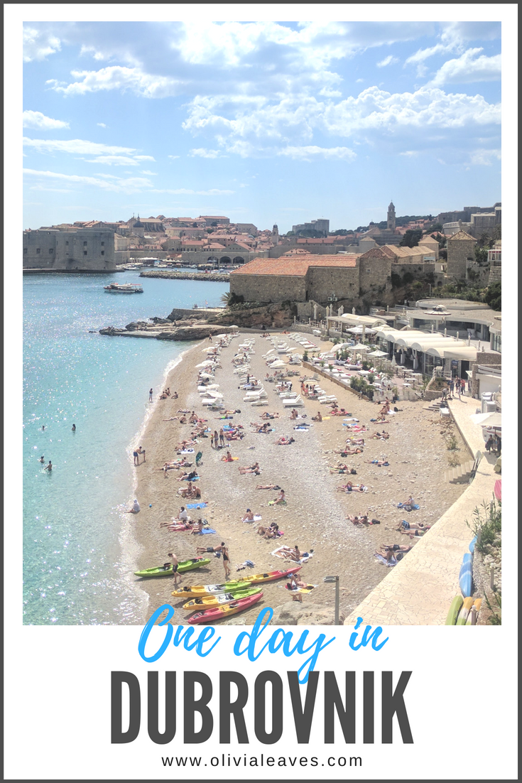 Olivia Leaves | One Day in Dubrovnik