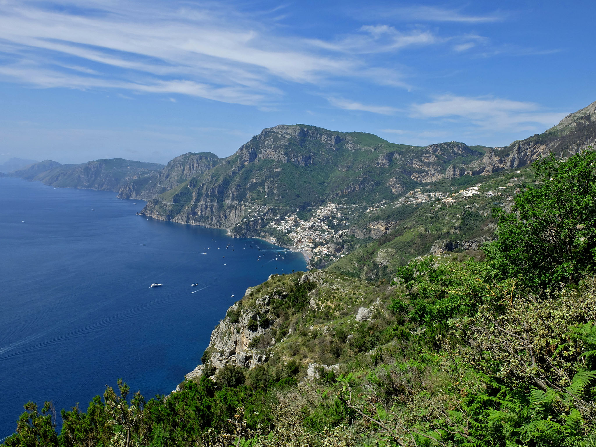 Olivia Leaves | Path of the Gods | Amalfi Coast