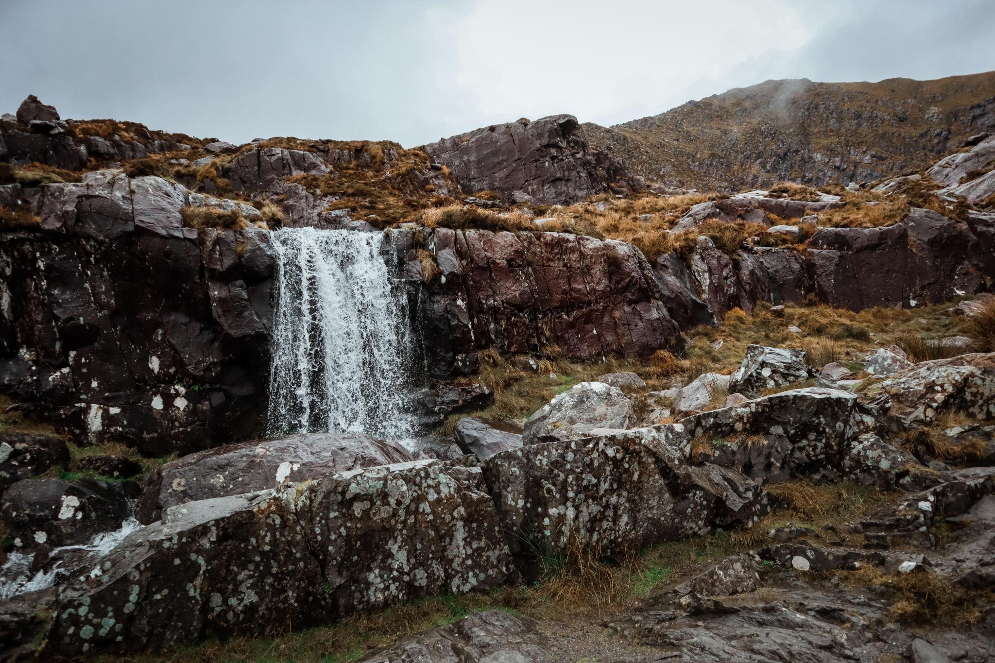 Olivia Leaves   Slea Head and Dingle Peninsula Ireland